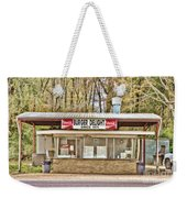 Burger Delight Weekender Tote Bag by Scott Pellegrin