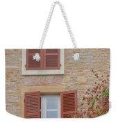 Rust Coloured Shutters Weekender Tote Bag