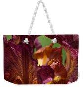 Burgundy Blossom Weekender Tote Bag