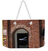 Burlington North Carolina - Brick Entrance Weekender Tote Bag