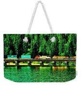 Burlington Northern Weekender Tote Bag