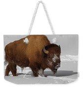 Burly Bison Weekender Tote Bag