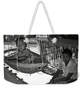 Burmese Mother And Son Weekender Tote Bag by RicardMN Photography