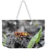 Burn Pile Bee Weekender Tote Bag