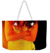 Burned Weekender Tote Bag