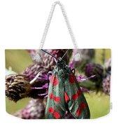 Burnett Moth Weekender Tote Bag