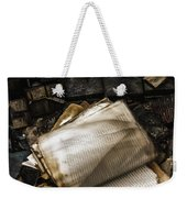 Burning Books Weekender Tote Bag