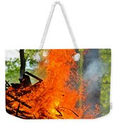 Burning Brush Weekender Tote Bag