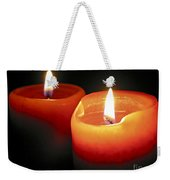 Burning Candles Weekender Tote Bag