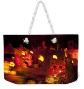 Burning City Weekender Tote Bag