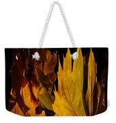 Burning Fall Weekender Tote Bag