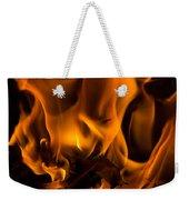 Burning Holly Weekender Tote Bag
