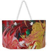 Burning Into The Darkness Weekender Tote Bag