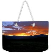 Burning Of Uncertainty Weekender Tote Bag