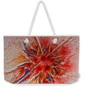 Burning Passion Of Love Weekender Tote Bag by Deborah Benoit