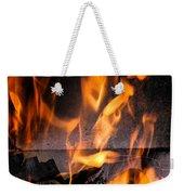 Burning Weekender Tote Bag