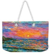 Burning Shore Weekender Tote Bag