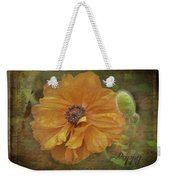 Burnished Poppy Weekender Tote Bag