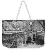 Burnside Bridge 0239 Weekender Tote Bag by Guy Whiteley