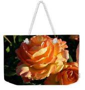 Burnt Rose Weekender Tote Bag