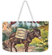 Burro Quality Of Cigars Label Weekender Tote Bag