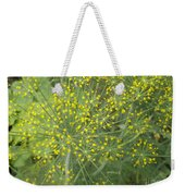 Bursting Dill Plant Weekender Tote Bag