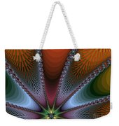 Bursting Star Nova Fractal Weekender Tote Bag
