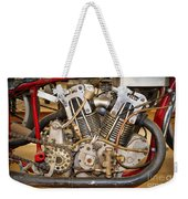Burt Munro Special Indian Scout Engine Weekender Tote Bag