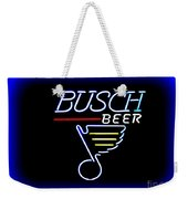 Busch And The Blues Edited Weekender Tote Bag