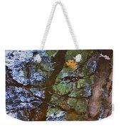 Second  Reflection In Bushkill Falls  Weekender Tote Bag
