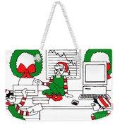 Business Elves Weekender Tote Bag by Genevieve Esson