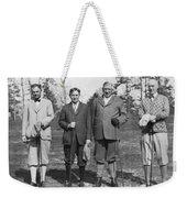Business Leaders Play Golf Weekender Tote Bag