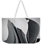 Business Skyscrapers Abstract Conceptual Architecture Weekender Tote Bag by Michal Bednarek