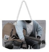 Busker With Style Weekender Tote Bag