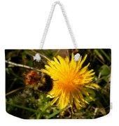 Bussy Bee And Dandelion Weekender Tote Bag