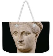 Bust Of Emperor Claudius Weekender Tote Bag