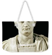 Bust Of Emperor Domitian Weekender Tote Bag
