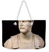 Bust Of Emperor Hadrian Weekender Tote Bag by Anonymous