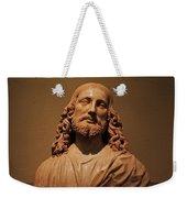 Bust Of Jesus Christ At Mfa Weekender Tote Bag