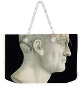 Bust Of Johan Spurzsheim Weekender Tote Bag