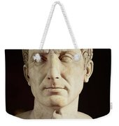 Bust Of Julius Caesar Weekender Tote Bag