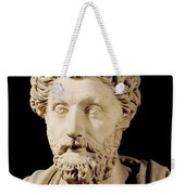 Bust Of Marcus Aurelius Weekender Tote Bag
