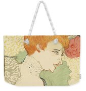Bust Of Mlle. Marcelle Lender Weekender Tote Bag