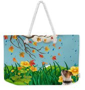 Buster And The Tree Weekender Tote Bag