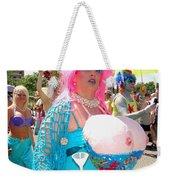 Busty Mermaid Weekender Tote Bag