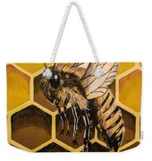 Busy As A Bee Weekender Tote Bag