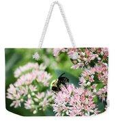 Busy Bumble Bee Weekender Tote Bag