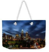 Busy Charlotte Night Weekender Tote Bag