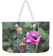 Busy In The Morning Weekender Tote Bag