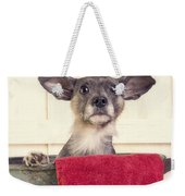 But I Don't Want A Bath Weekender Tote Bag by Edward Fielding